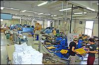 シルクスクリーンプリント工場