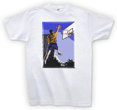 ロゴなしプリントTシャツ