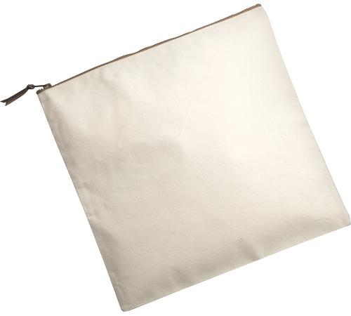 キャンバスクラッチバッグ カラー:ナチュラル