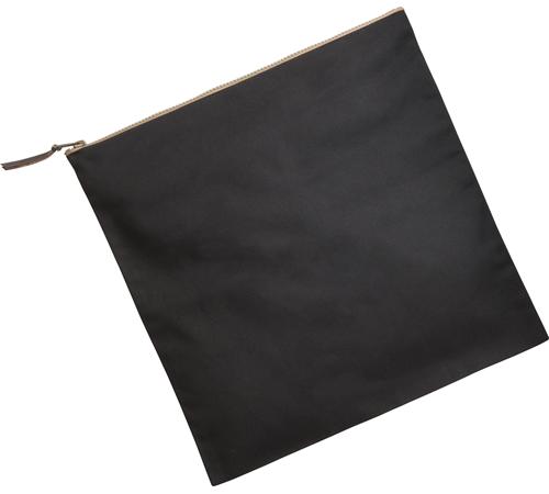 キャンバスクラッチバッグ カラー:ブラック