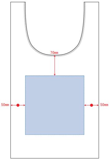 印刷範囲W200×H200(mm)