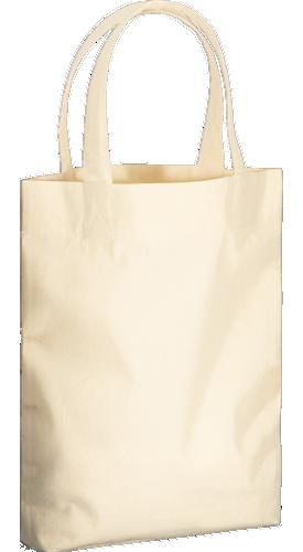 コットンガゼットマチ付バッグ(M) A4サイズをたっぷり収納