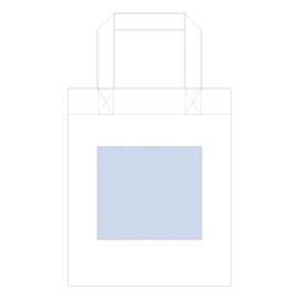 コットンガゼットマチ付バッグ(M) 最大印刷範囲:W180×H160(mm)以内