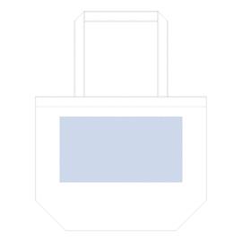 コットンファームトート デザインスペース:W300×H160(mm) 最大範囲:W250×H160(mm) 以内