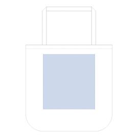 厚手コットンラウンドボトムバッグ(L)レイアウト可能範囲:W300×H385(mm) ■シルク印刷 最大範囲:W300×H350(mm)