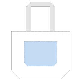 デザインスペース:W250×H190(mm) ■シルク印刷 最大範囲:W250×H190(mm)