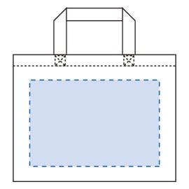 キャンバスカレッジトート(M)ワイド印刷範囲